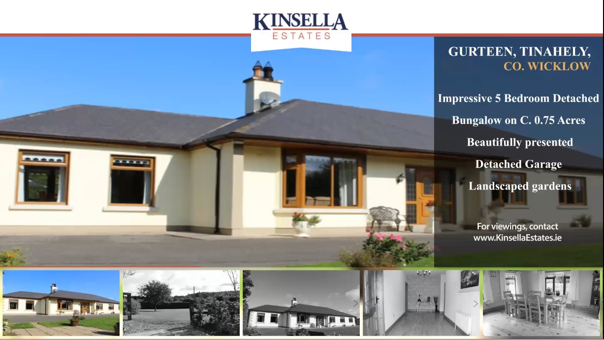 Property of the Week: Gurteen, Tinahely, County Wicklow