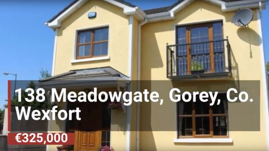 Property Of The Week: 138 Meadowgate, Gorey, Co.…